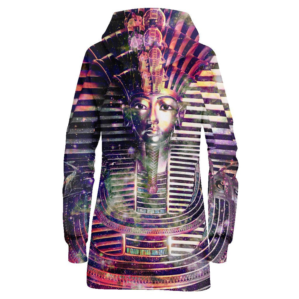 SPACE PHARAOH HOODIE DRESS