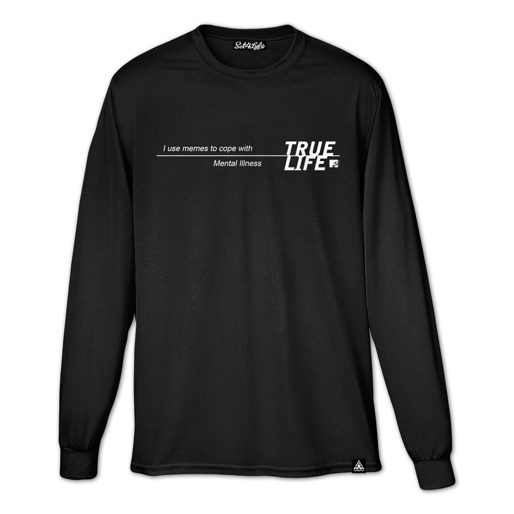 TRUE LIFE LONG SLEEVE T