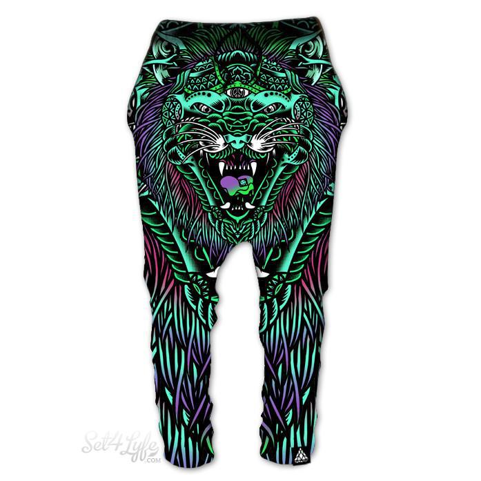 Set 4 Lyfe - ACID TIGER DROP PANTS - Clothing Brand - Drop Pants - SET4LYFE Apparel