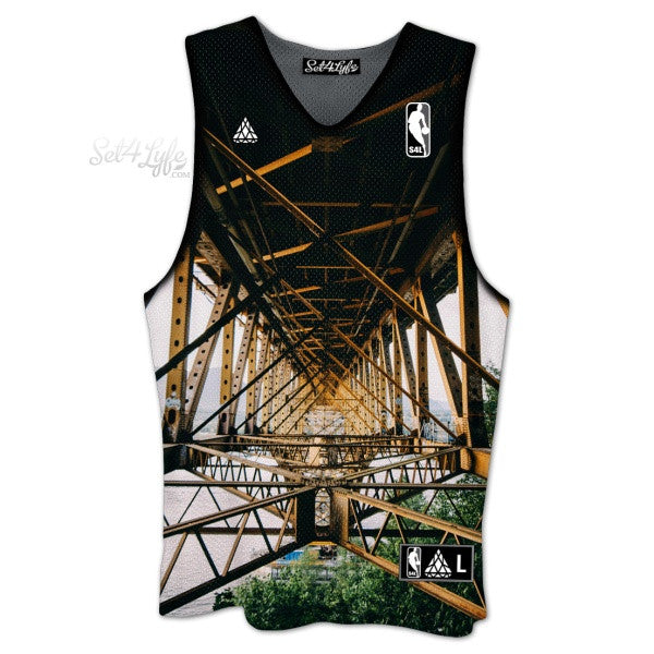 BRIDGE CUSTOM JERSEY Set 4 Lyfe / Brandon Artis Photo Finish