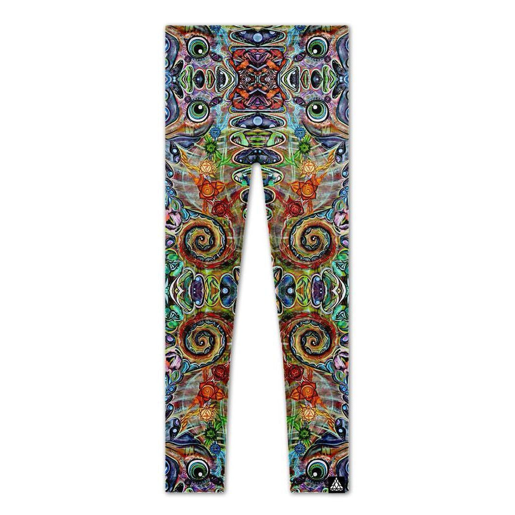 CHAKRA SEAHORSE LEGGINGS-Set 4 Lyfe Apparel