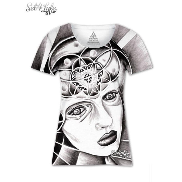 Set 4 Lyfe / Maria Joaquin - COGNITIVE COSMOSIS GIRLS T - Clothing Brand - Girls T - SET4LYFE Apparel