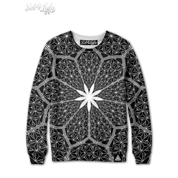 COSMIC HONEYCOMB SWEATSHIRT (READY TO SHIP)