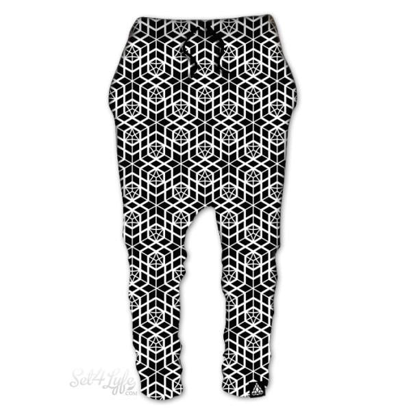 CUBE DROP PANTS (Clearance)