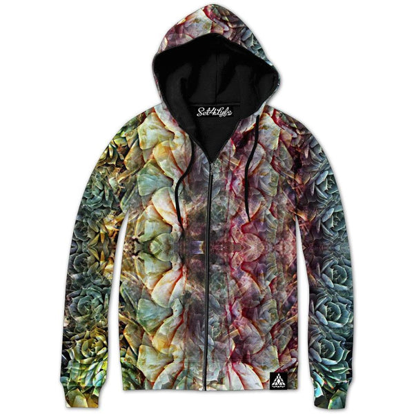 FASCINATION ZIP UP HOODIE