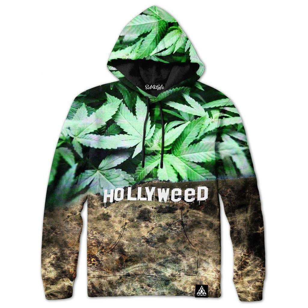 Set 4 Lyfe / Mattaio - HOLLYWEED HOODIE - Clothing Brand - Pullover Hoodie - SET4LYFE Apparel