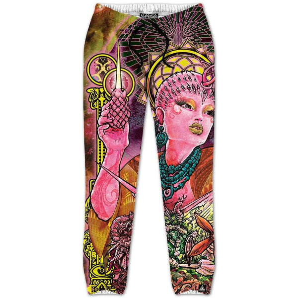 Set 4 Lyfe / Tom Denney - QUEEN OF THE COSMOSIS JOGGERS - Clothing Brand - Joggers - SET4LYFE Apparel