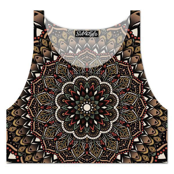 YANTRA CROPTOP - READY TO SHIP-Set 4 Lyfe Apparel