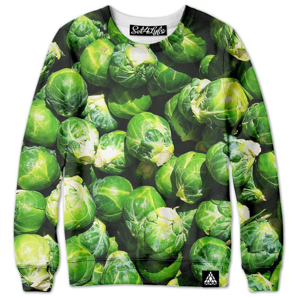 Set 4 Lyfe - BRUSSEL SPROUTS SWEATSHIRT - Clothing Brand - Premium Sweatshirt - SET4LYFE Apparel