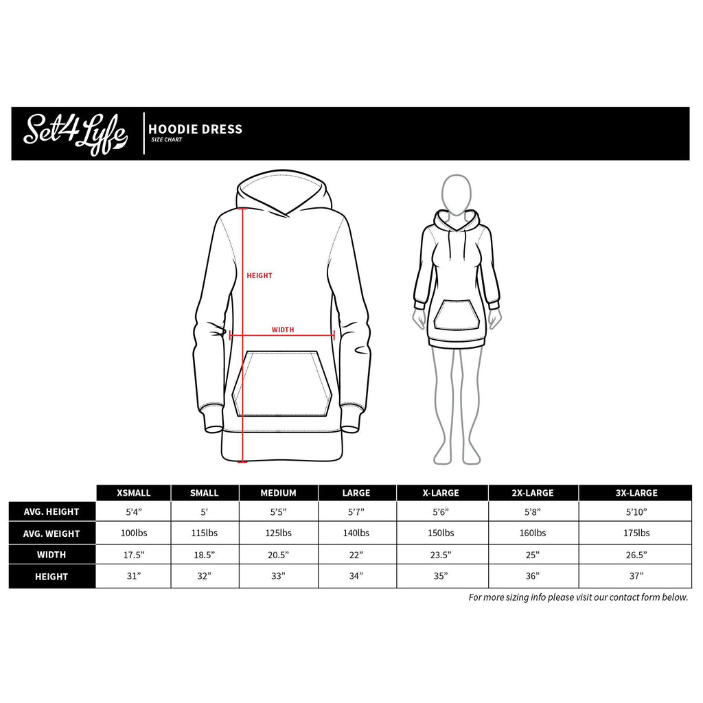 REZOLUTION HOODIE DRESS