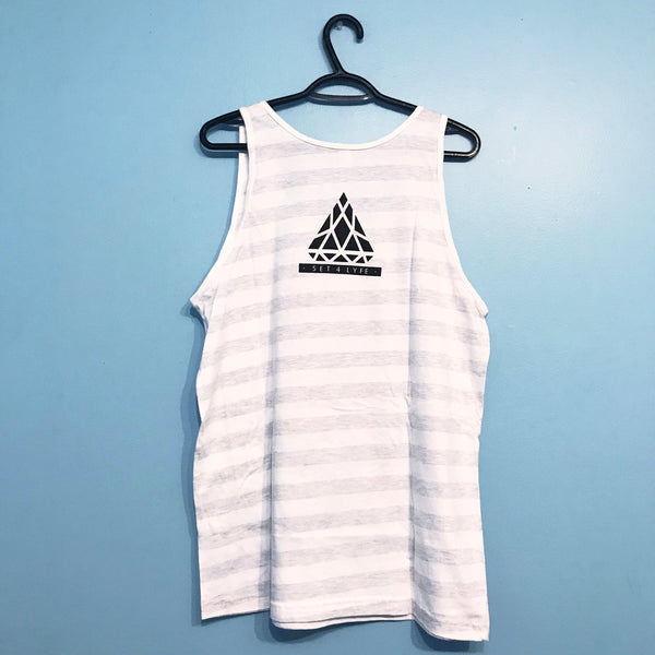 ANCHOR STRIPED TANKTOP (Clearance)