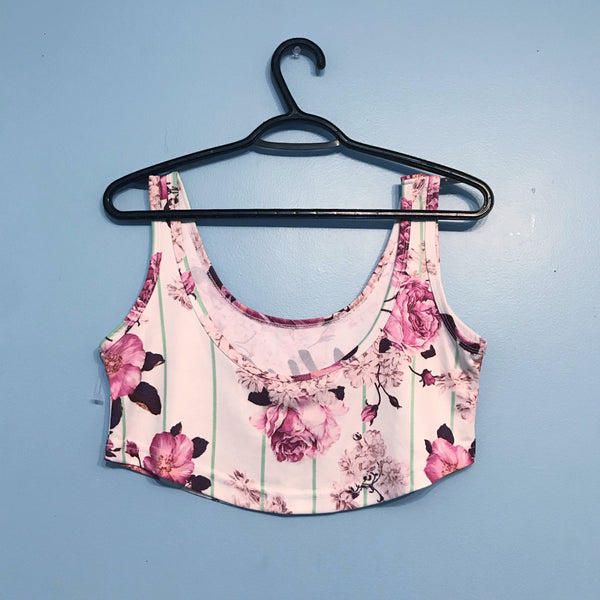 BLOOM FESTIVAL CROPTOP (Clearance)