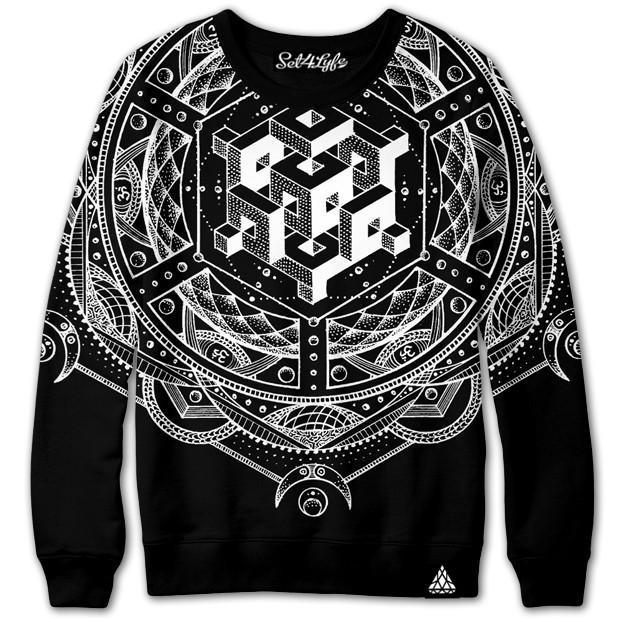 Set 4 Lyfe / Glenn Thomson - ISOMETRIC REALITY SWEATSHIRT - Clothing Brand - Premium Sweatshirt - SET4LYFE Apparel