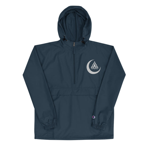 CRESCENT LOGO NAVY JACKET x CHAMPION