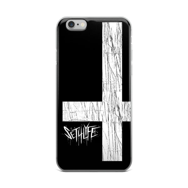 Set 4 Lyfe - DARK CROSS - iPhone 5/5s/Se, 6/6s, 6/6s Plus Case - Clothing Brand - Phone Cases - SET4LYFE Apparel