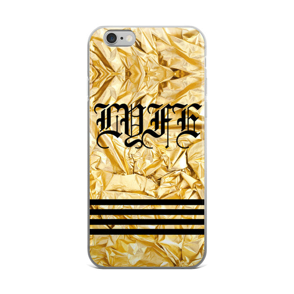 GOLD LYFE - iPhone 5/5s/Se, 6/6s, 6/6s Plus Case-Set 4 Lyfe Apparel