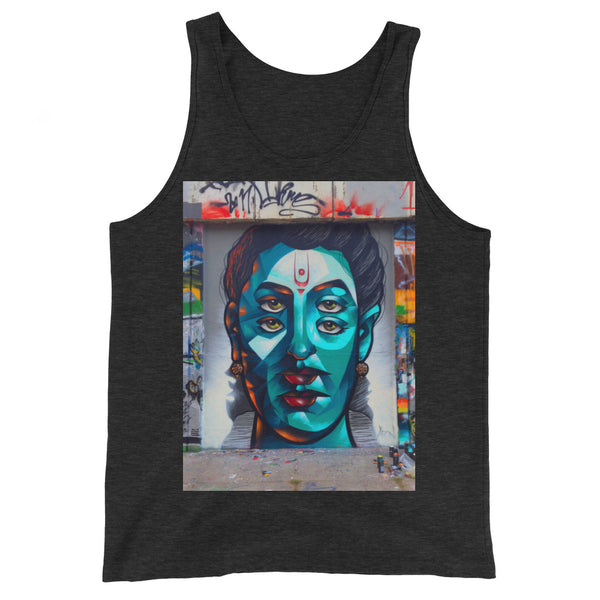 BACK ALLEY GRAPHIC TANKTOP