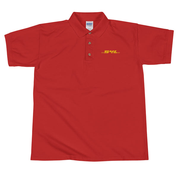 S4L EXPRESS EMBROIDERED POLO