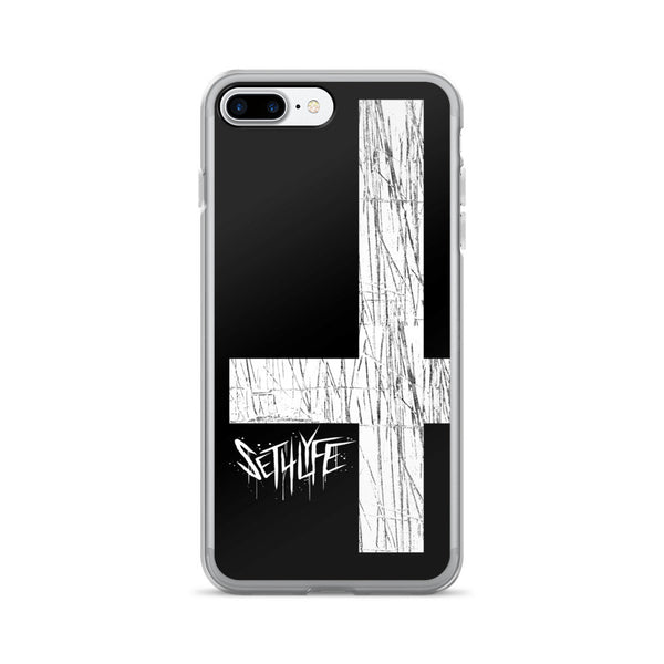 Set 4 Lyfe - DARK CROSS - iPhone 7/7 Plus Case - Clothing Brand - Phone Cases - SET4LYFE Apparel