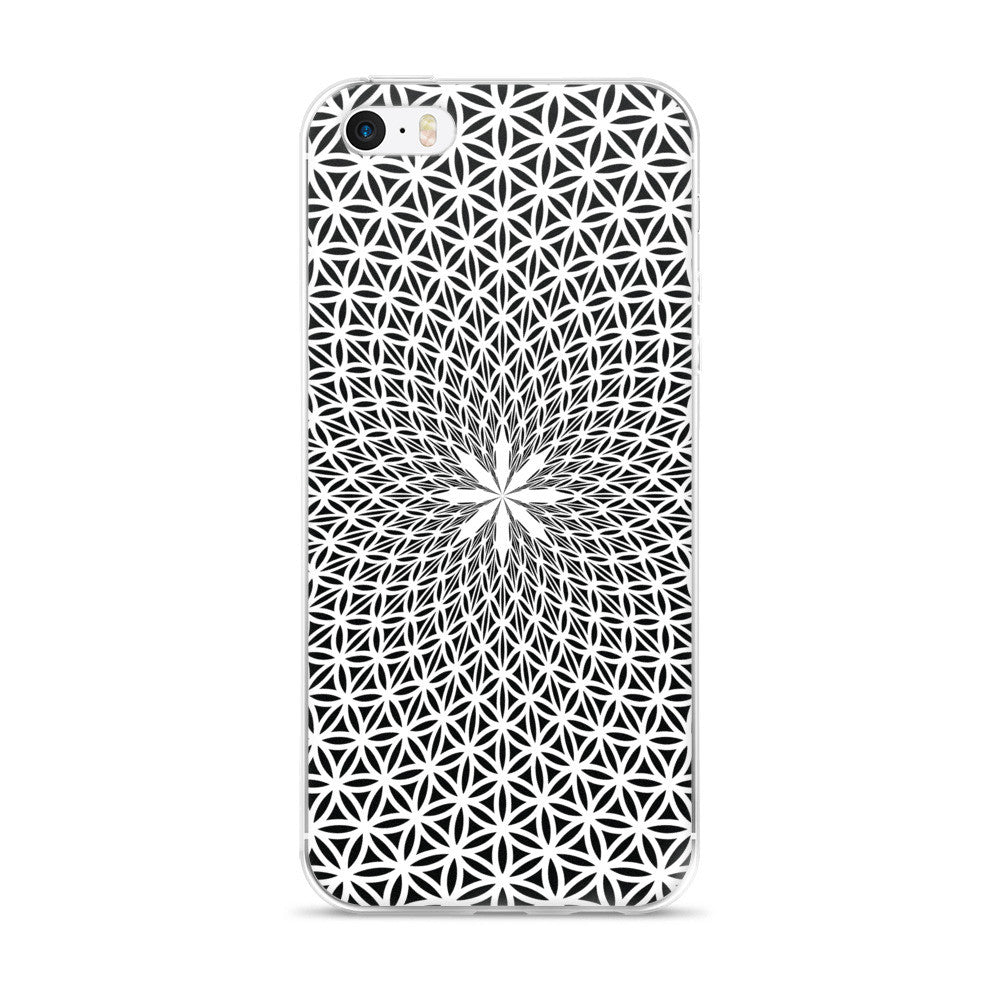Set 4 Lyfe / Rooz Kashani - FLOWER OF LIFE - iPhone 5/5s/Se, 6/6s, 6/6s Plus Case - Clothing Brand - Phone Cases - SET4LYFE Apparel