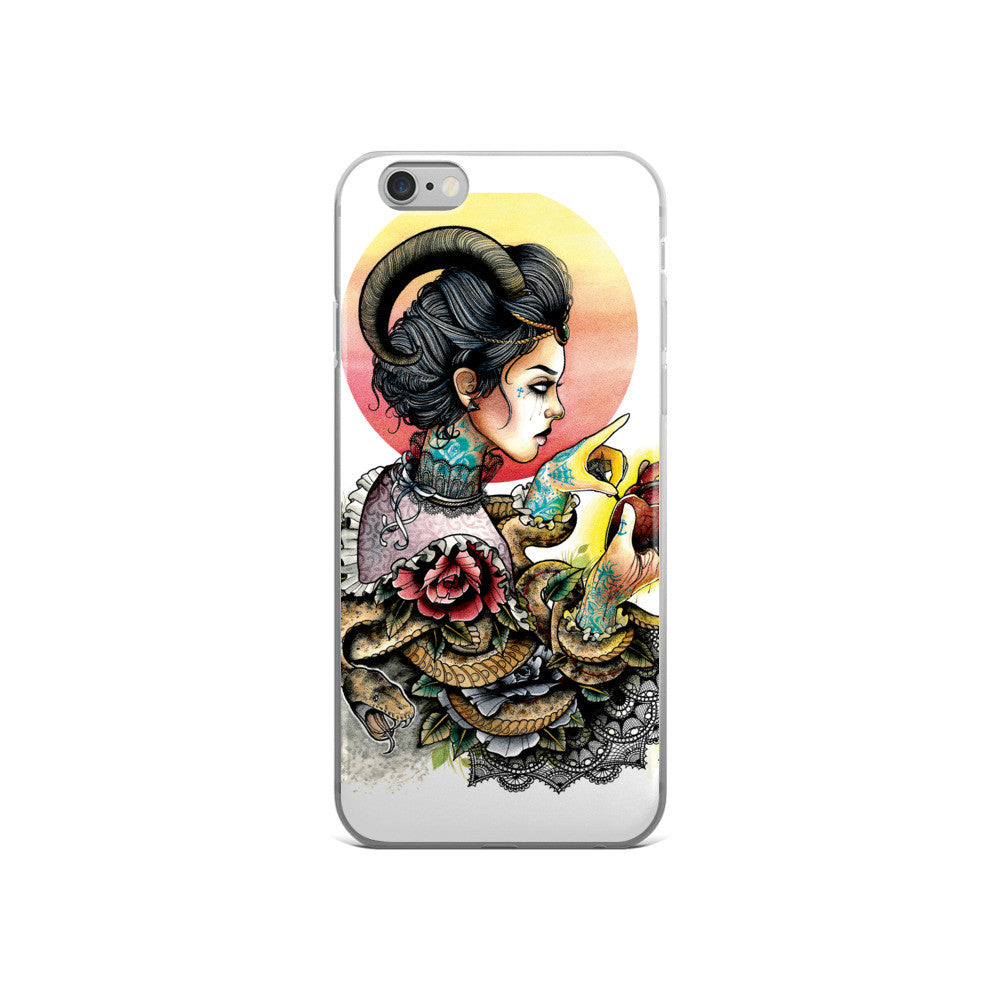 MAIDEN - iPhone 5/5s/Se, 6/6s, 6/6s Plus Case-Set 4 Lyfe Apparel