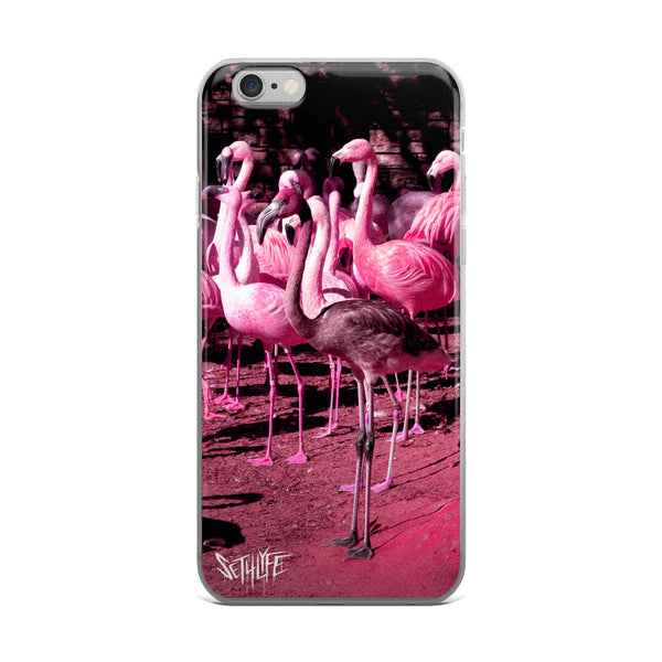 FLAMINGO - iPhone 5/5s/Se, 6/6s, 6/6s Plus Case-Set 4 Lyfe Apparel
