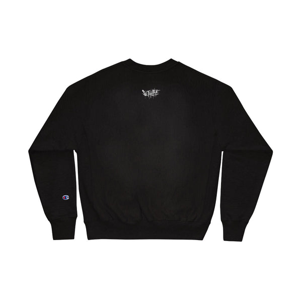 ASANOHA BOX SWEATSHIRT x CHAMPION