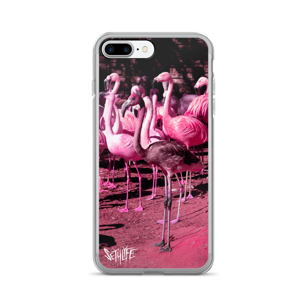FLAMINGO - iPhone 7/7 Plus Case-Set 4 Lyfe Apparel