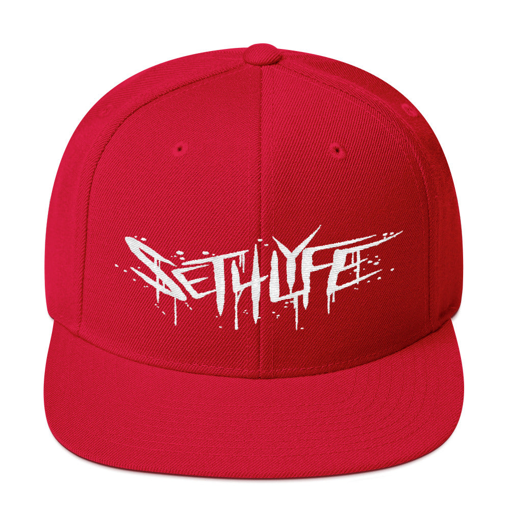 Set 4 Lyfe - DRIP LOGO SNAPBACK - Clothing Brand - Hat - SET4LYFE Apparel