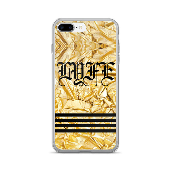 Set 4 Lyfe / Mattaio - GOLD LYFE - iPhone 7/7 Plus Case - Clothing Brand - Phone Cases - SET4LYFE Apparel