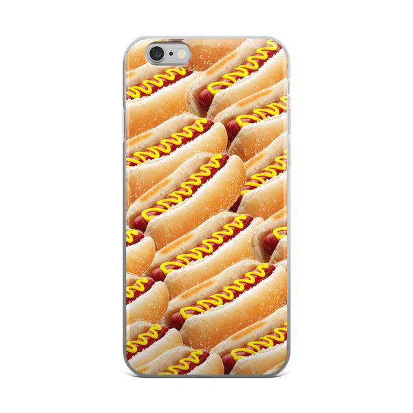 HOT DOGS - iPhone 5/5s/Se, 6/6s, 6/6s Plus Case-Set 4 Lyfe Apparel