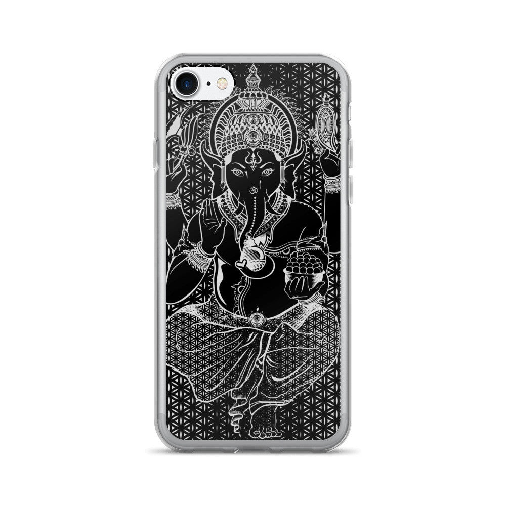 Set 4 Lyfe / Rooz Kashani - SACRED GANESHA - iPhone 7/7 Plus Case - Clothing Brand - Phone Cases - SET4LYFE Apparel