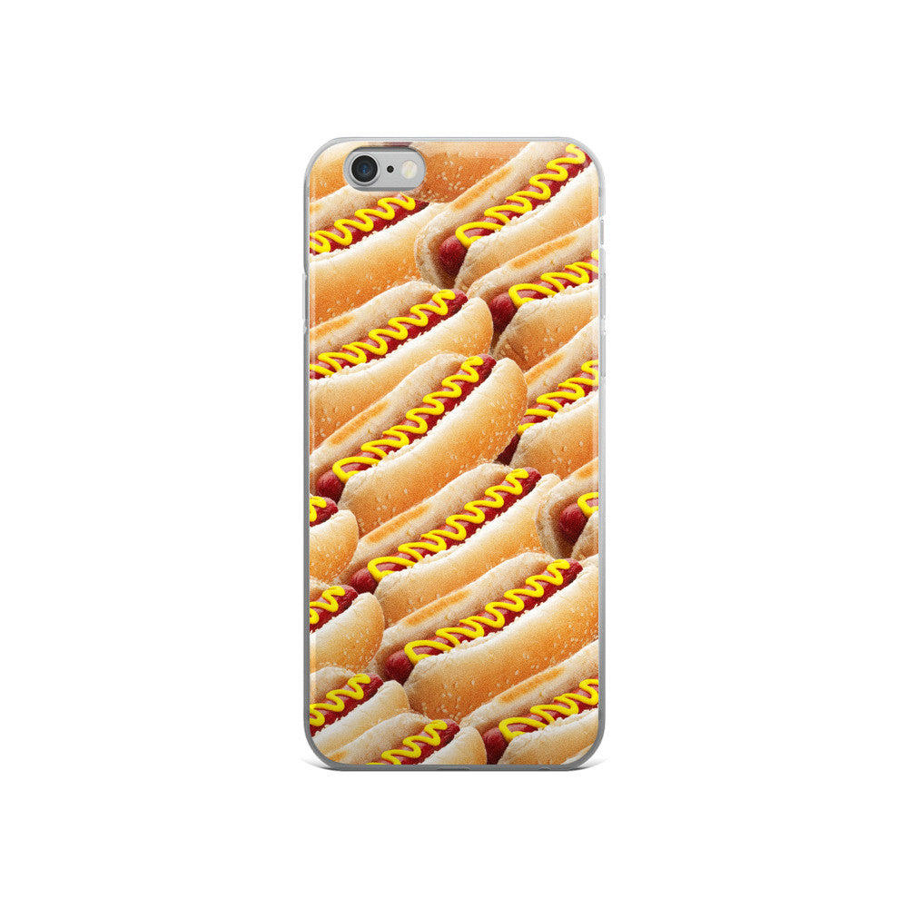 Set 4 Lyfe - HOT DOGS - iPhone 5/5s/Se, 6/6s, 6/6s Plus Case - Clothing Brand - Phone Cases - SET4LYFE Apparel