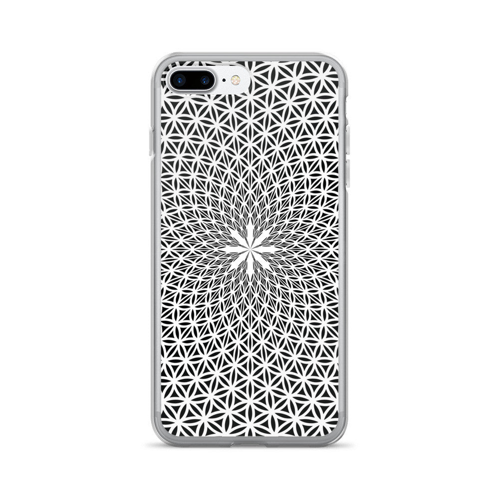Set 4 Lyfe / Rooz Kashani - FLOWER OF LIFE - iPhone 7/7 Plus Case - Clothing Brand - Phone Cases - SET4LYFE Apparel