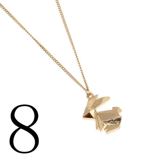 Set 4 Lyfe - ORIGAMI NECKLACE - Clothing Brand - Rare Imports - SET4LYFE Apparel