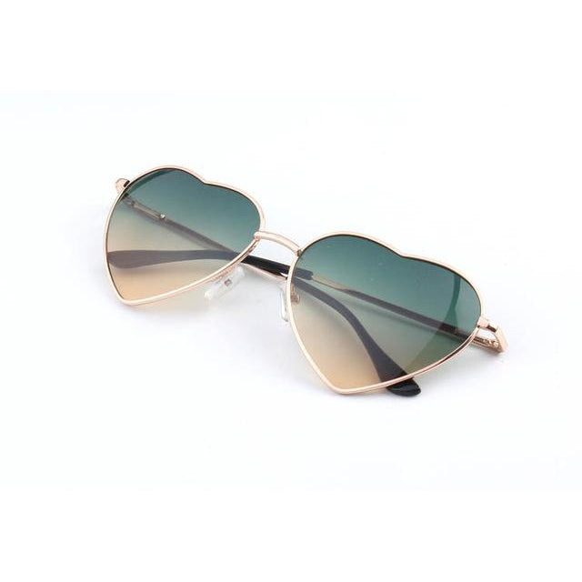 Trippy Eye Supply - LUCY HEART SHAPED SUNGLASSES - Clothing Brand - Sunglasses - SET4LYFE Apparel