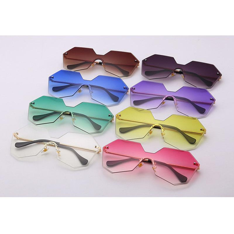 HEPTAGON SUNGLASSES