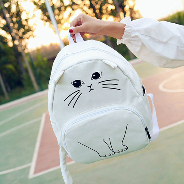 EMO KITTY BACKPACK