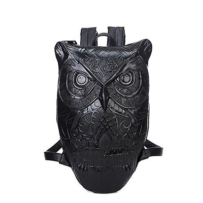 Set 4 Lyfe Apparel - LEGENDARY OWL LEATHER BACKPACK - Clothing Brand - Backpacks - SET4LYFE Apparel