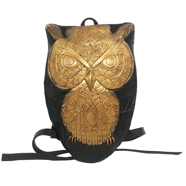 LEGENDARY OWL LEATHER BACKPACK