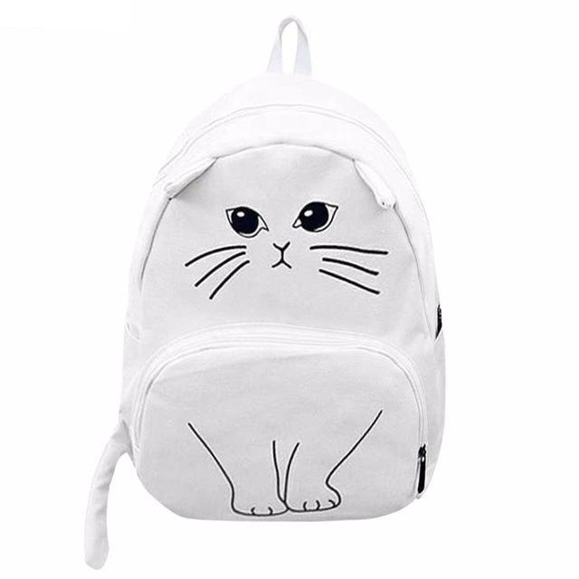 Set 4 Lyfe Apparel - EMO KITTY BACKPACK - Clothing Brand - Backpacks - SET4LYFE Apparel