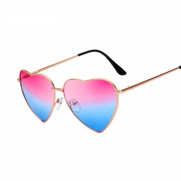 LUCY HEART SHAPED SUNGLASSES