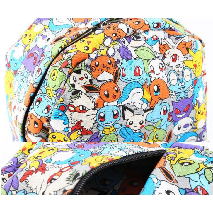 Set 4 Lyfe Apparel - RARE POKEMON BACKPACK - Clothing Brand - Backpacks - SET4LYFE Apparel