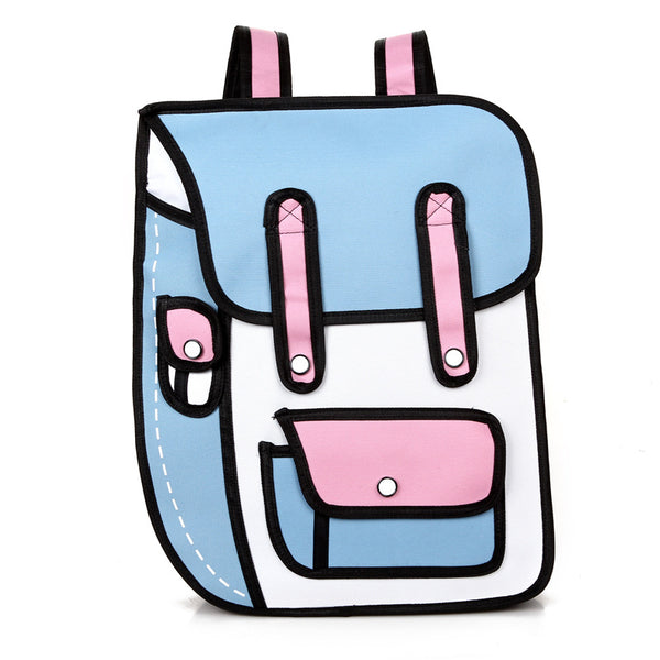 2D ILLUSION BACKPACK