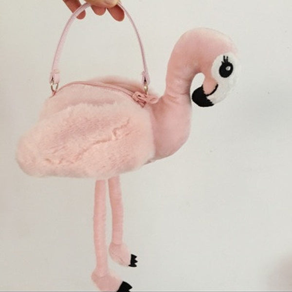 RARE FLAMINGO HANDBAG