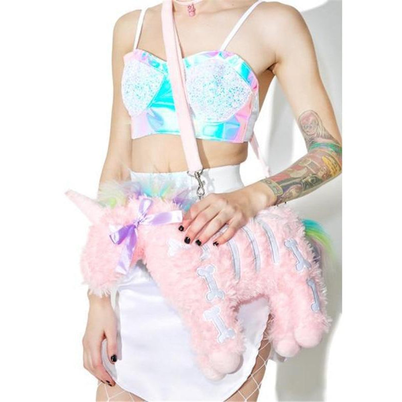PLUSH UNICORN HANDBAG