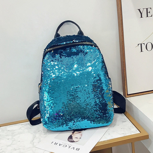 RARE SEQUIN BACKPACK