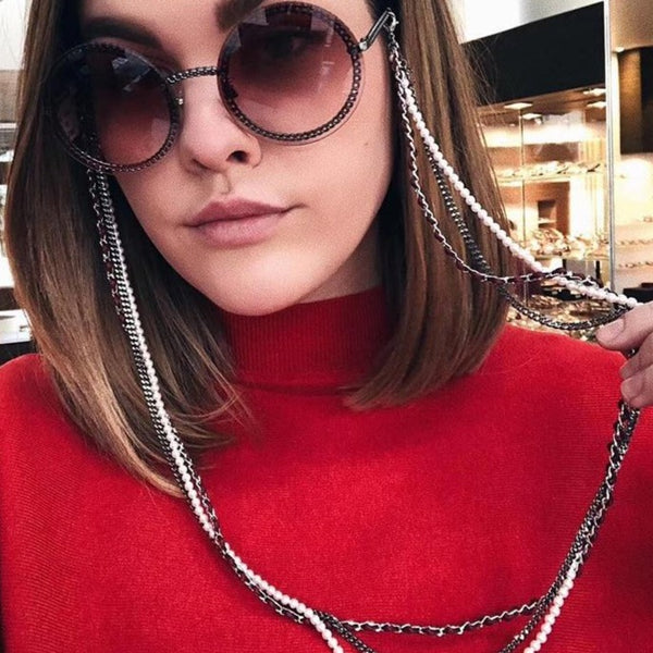 TRIPLE THREAT SUNGLASSES CHAIN