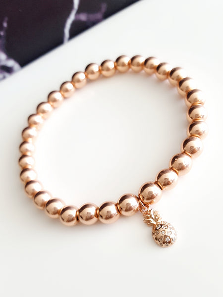 LIMITED EDITION  |  Rose Gold Pineapple Bracelet