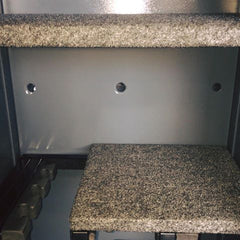extra added anchor holes in gun safe